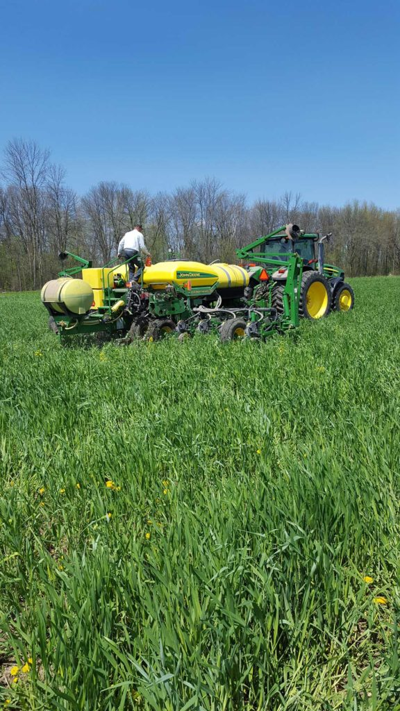 Measuring The Effect Of Closing Wheels In A No Till System Fox