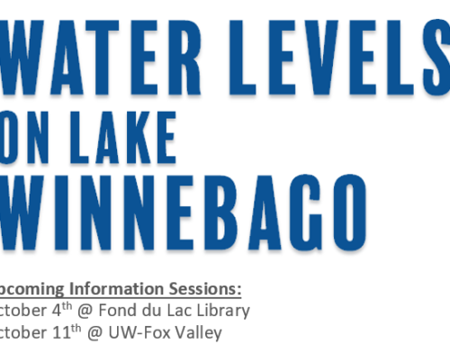 Water Levels on the Winnebago Lakes – Public Presentations – October 4th & 11th, 2017