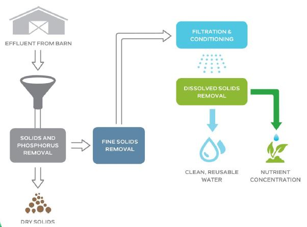 Livestock Water Recycling – Manure Management System