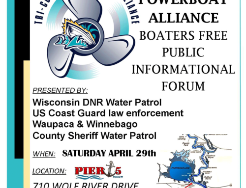 "Tri-County Powerboat Alliance ""Free"" Public Informational Forum – April 29th, 2017"
