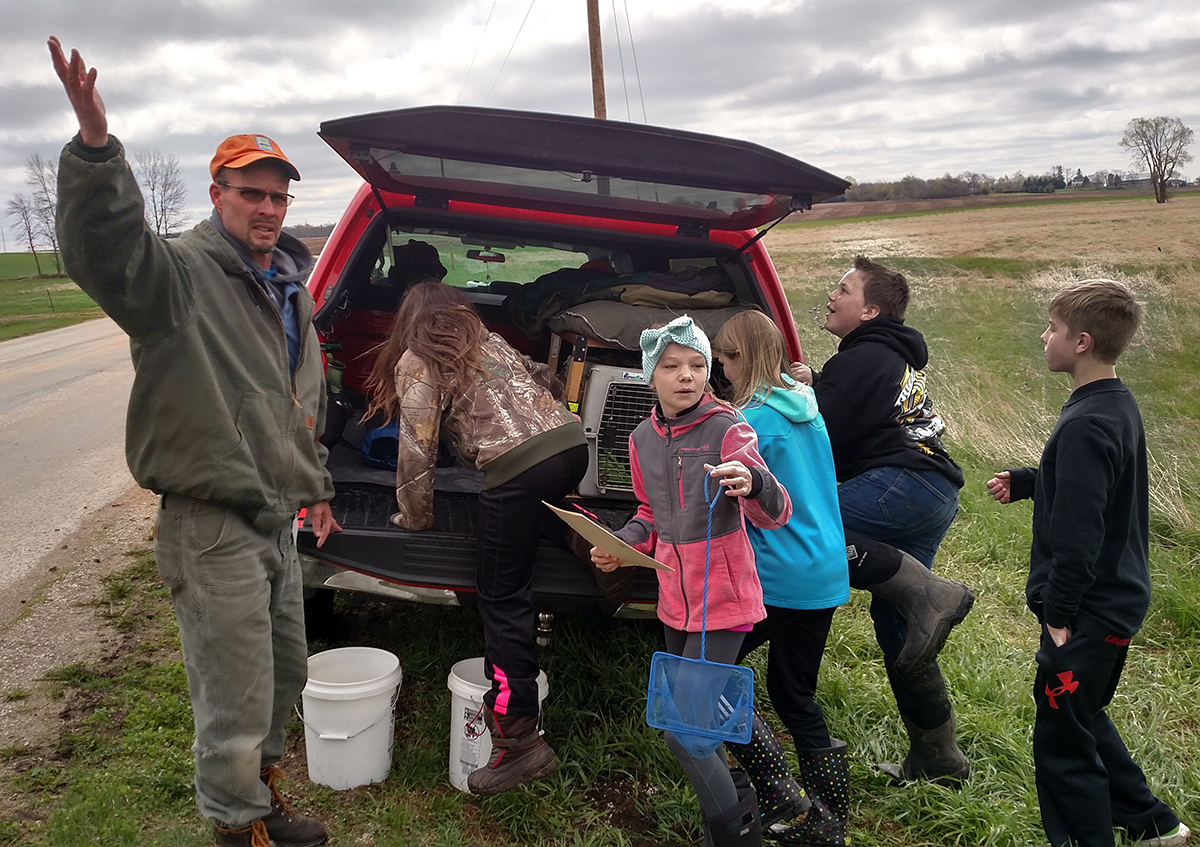 How Students Are Restoring the only Trout Stream in Calumet County