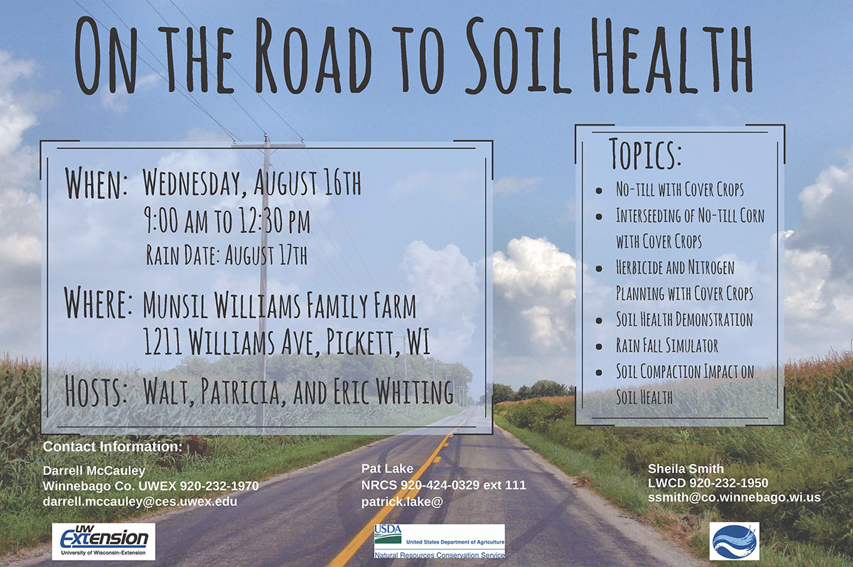 Soil Health Field Day – August 16th, 2017