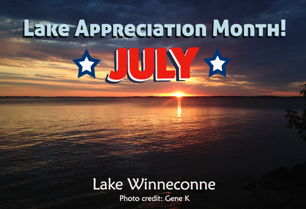 July is Lake Appreciation Month!