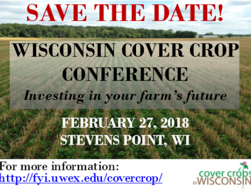 2018 Cover Crops Conference – Save The Date