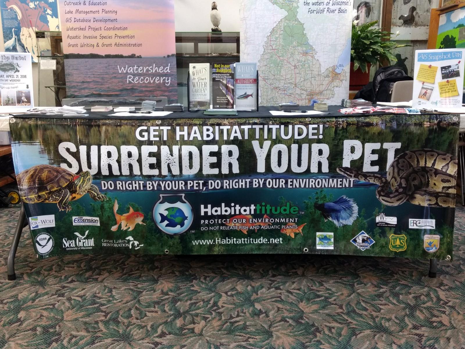 Habitattitude Pet Surrender Event Promotes Responsible Pet Ownership; 28 Pets Surrendered!