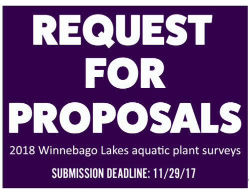 Request for Proposals – Winnebago Lakes Aquatic Vegetation Surveys, DUE: Nov. 29th, 2017