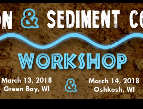 Upcoming NEWSC Trainings:  Erosion & Sediment Control – Green Bay & Oshkosh