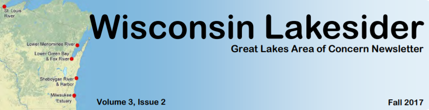 Wisconsin Lakesider: Fall 2017 Newsletter
