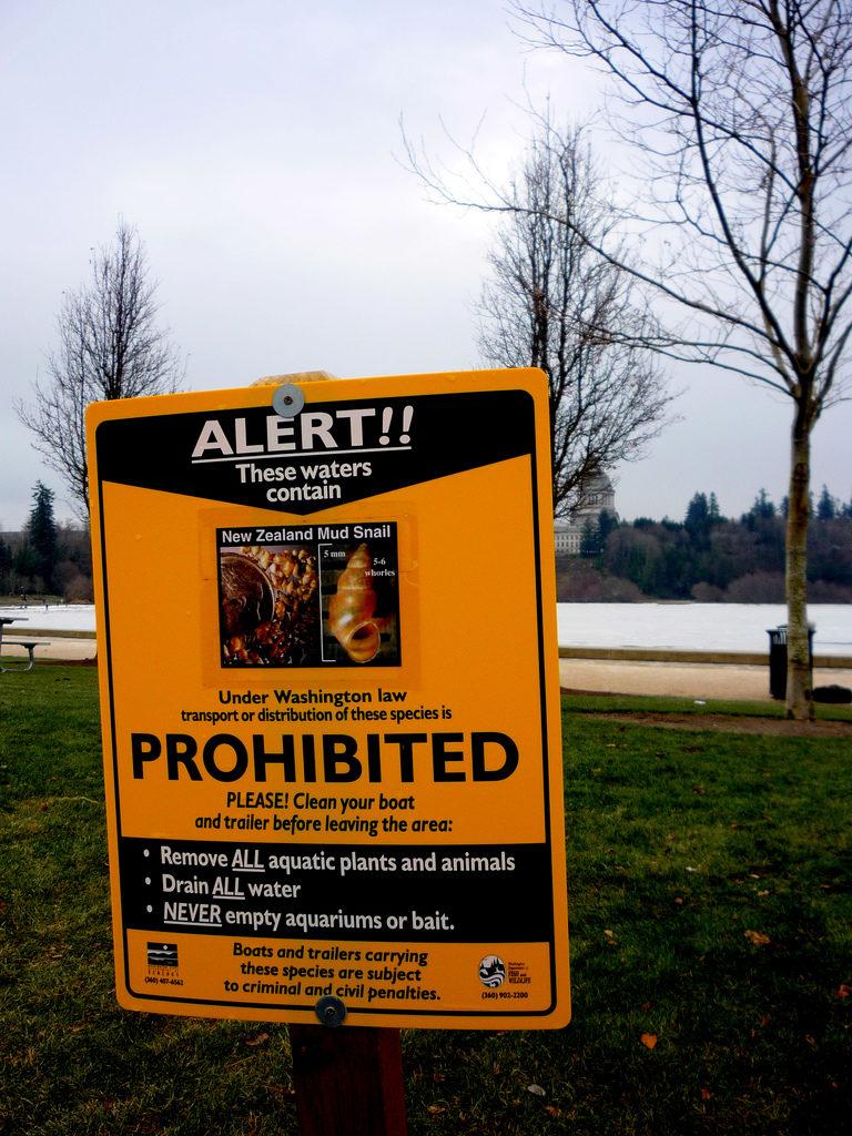 NZMS Warning Sign