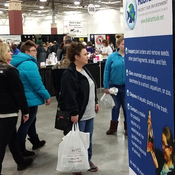 Great Lakes Pet Expo in Milwaukee hosts Habitattitude Booth